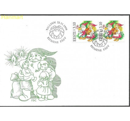 Znaczek Estonia 1999 Mi par361 FDC