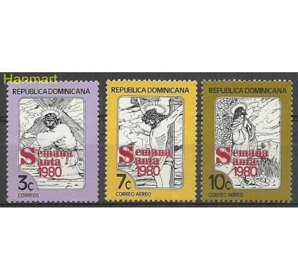 Znaczek Dominikana 1980 Mi 1253-1255 Czyste **