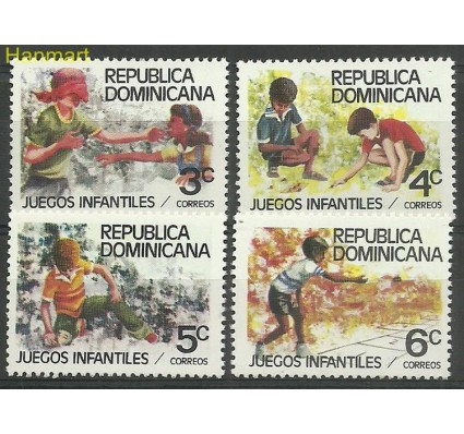 Znaczek Dominikana 1980 Mi 1266-1269 Czyste **