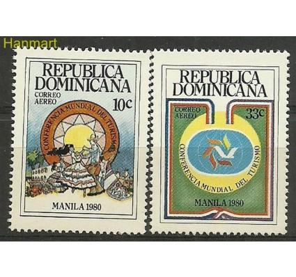 Znaczek Dominikana 1980 Mi 1270-1271 Czyste **