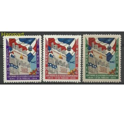 Znaczek Dominikana 1944 Mi 439-441 Czyste **