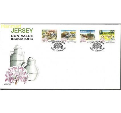 Znaczek Jersey 1998 Mi 855-858I FDC