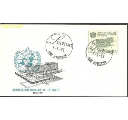 Znaczek Luksemburg 1966 Mi 724 FDC