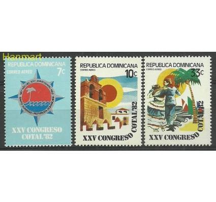 Znaczek Dominikana 1982 Mi 1348-1350 Czyste **