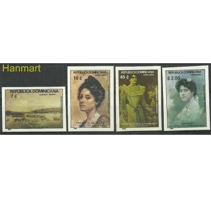 Znaczek Dominikana 1982 Mi 1360-1363B Czyste **