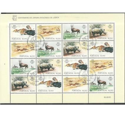 Znaczek Portugalia 1984 Mi ark 1617-1620 Stemplowane