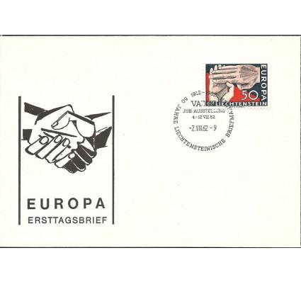 Znaczek Liechtenstein 1962 Mi 418 FDC
