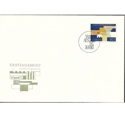 Znaczek Liechtenstein 1963 Mi 431 FDC