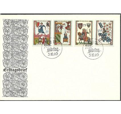Znaczek Liechtenstein 1963 Mi 433-436 FDC
