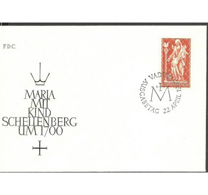 Znaczek Liechtenstein 1965 Mi 449 FDC