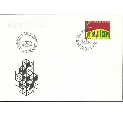 Znaczek Liechtenstein 1969 Mi 507 FDC