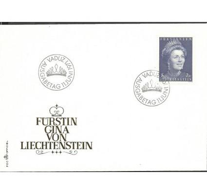 Znaczek Liechtenstein 1971 Mi 544 FDC
