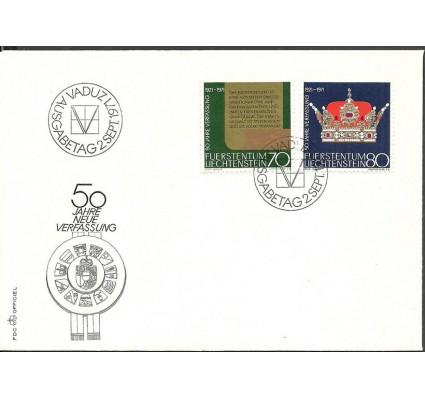 Znaczek Liechtenstein 1971 Mi 546-547 FDC