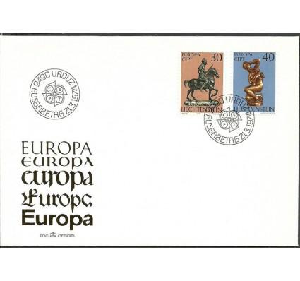 Znaczek Liechtenstein 1974 Mi 600-601 FDC