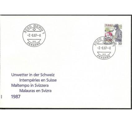 Znaczek Szwajcaria 1987 Mi 1358 FDC
