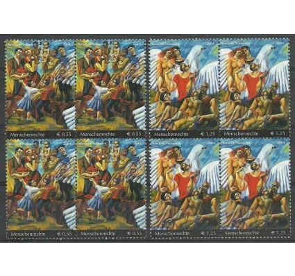 Znaczek Narody Zjednoczone Wiedeń 2004 Mi 430-431 Czyste **