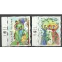 Narody Zjednoczone Nowy Jork 2007 Mi 1063-1064 Czyste **
