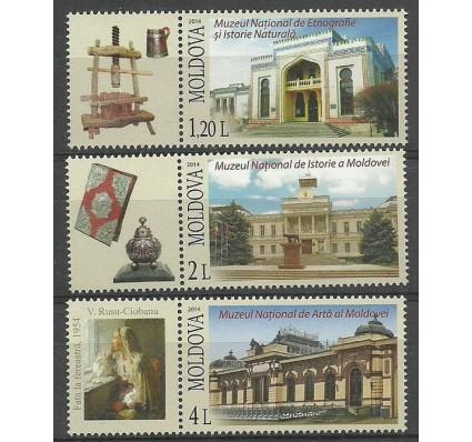 Znaczek Mołdawia 2014 Mi zf 866-868 Czyste **