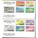Saint Lucia 1976 Mi 372-379 FDC