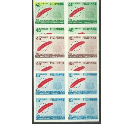 Znaczek Filipiny 1974 Mi vie1109-1111B Czyste **