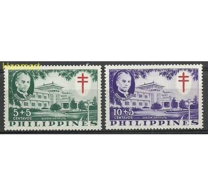 Znaczek Filipiny 1958 Mi zwa1-2A Czyste **