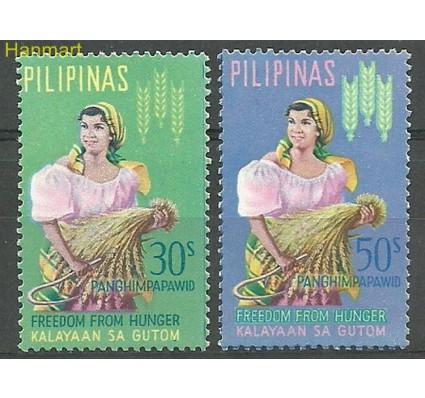 Znaczek Filipiny 1963 Mi 742-743 Czyste **