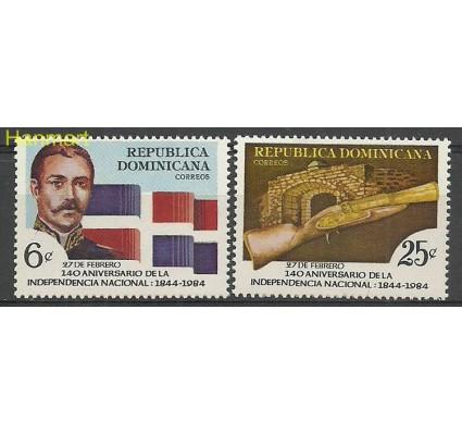 Znaczek Dominikana 1984 Mi 1418-1419 Czyste **