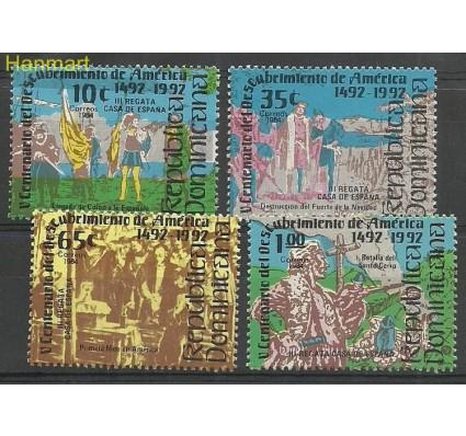 Znaczek Dominikana 1984 Mi 1435-1438 Czyste **