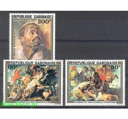 Gambia 1977 Mi 643-645 Czyste **