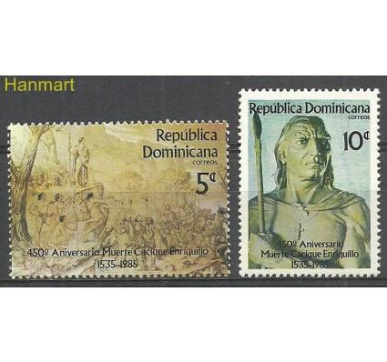 Znaczek Dominikana 1985 Mi 1474-1475 Czyste **
