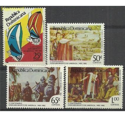 Znaczek Dominikana 1986 Mi 1502-1505 Czyste **