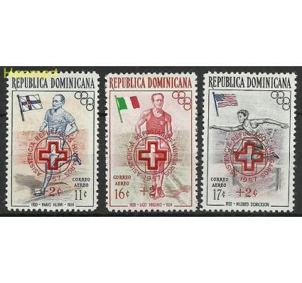 Znaczek Dominikana 1957 Mi 574-576 Czyste **