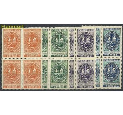 Znaczek Dominikana 1938 Mi 350-353 Z podlepką *