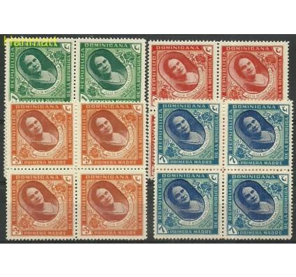 Znaczek Dominikana 1940 Mi 372-375 Z podlepką *