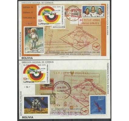 Znaczek Boliwia 1980 Mi bl 104-105 Czyste **