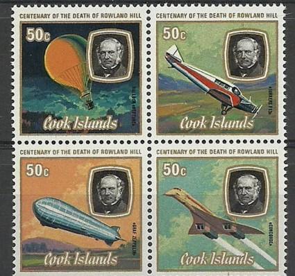 Znaczek Wyspy Cooka 1979 Mi vie611-614 Czyste **