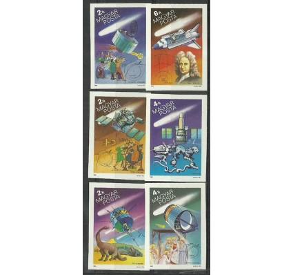 Znaczek Węgry 1986 Mi 3805-3810B Czyste **