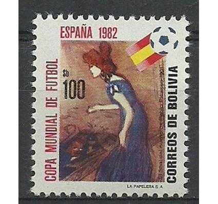 Znaczek Boliwia 1982 Mi 988 Czyste **