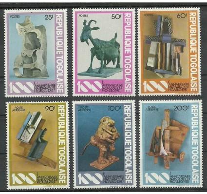 Znaczek Togo 1981 Mi 1559-1564 Czyste **