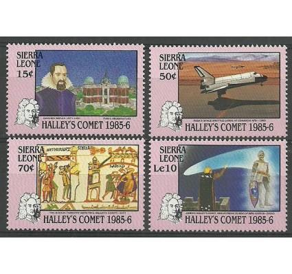 Znaczek Sierra Leone 1986 Mi 883-886 Czyste **