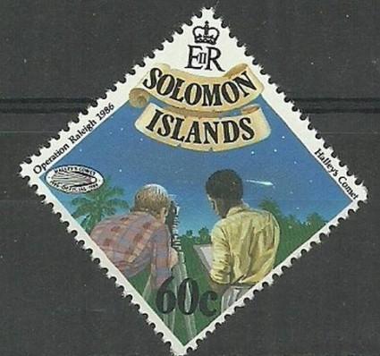 Znaczek Wyspy Salomona 1986 Mi 560 Czyste **