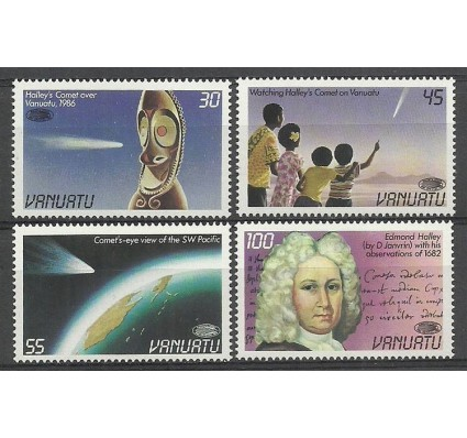 Znaczek Vanuatu 1986 Mi 728-731 Czyste **
