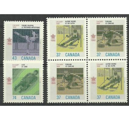 Znaczek Kanada 1988 Mi 1075-1078 Czyste **