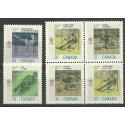 Kanada 1988 Mi 1075-1078 Czyste **