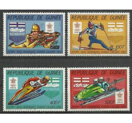 Znaczek Gwinea 1987 Mi 1148-1152 Czyste **