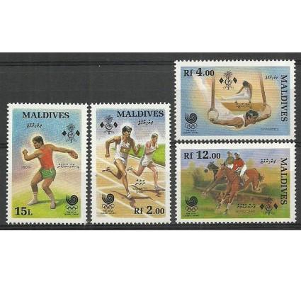 Znaczek Malediwy 1988 Mi 1307-1310 Czyste **
