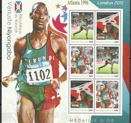 Znaczek Burundi 2012 Mi perark 2390 Czyste **