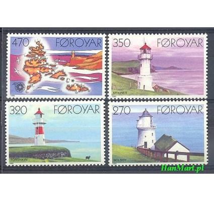 Wyspy Owcze 1985 Mi 121-124 Czyste **