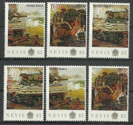 Znaczek Nevis 2011 Mi per2590 Czyste **