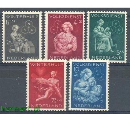 Znaczek Holandia 1944 Mi 423-427 Czyste **